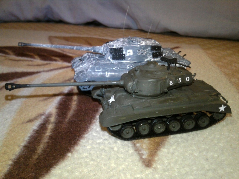 model tanku M26 Pershing